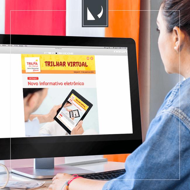 Trilhar virtual